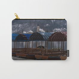 Pletna Boats At Bled Lake Carry-All Pouch