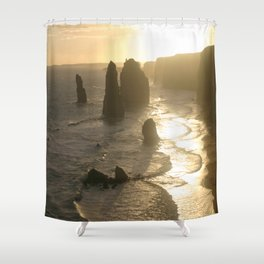 Evolutionary history of life on Earth  Shower Curtain