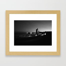 Steady Night Framed Art Print