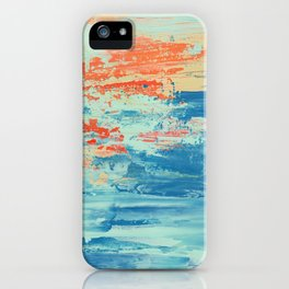 Sun and Sea iPhone Case