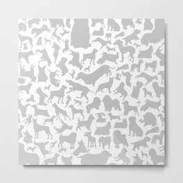 Dog a background Metal Print