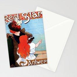 Red  Star Line Antwerpen New York Stationery Cards