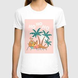 Hot Santa on vacation T-shirt