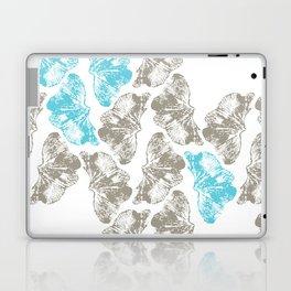 Ginkgo Fossils - Light Laptop & iPad Skin