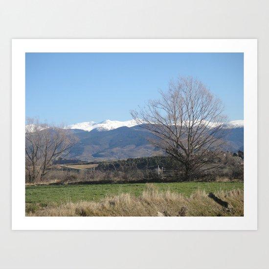 Pyrenees - Spain Art Print