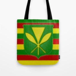 Fancy Flag:  Hawaii Kanaka Maoli Tote Bag