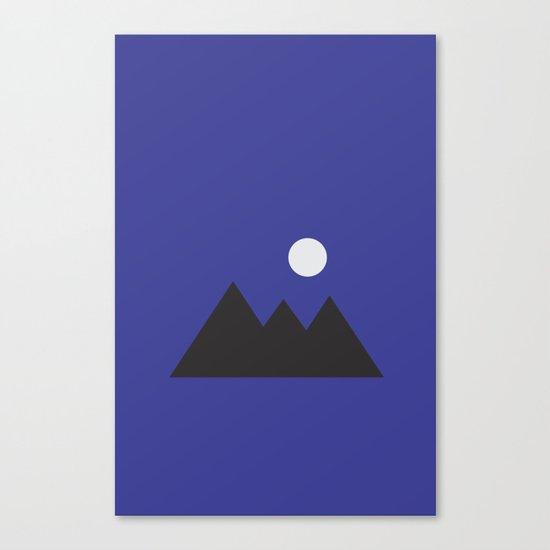 Giza Geometrical Minimal Canvas Print