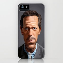 Celebrity Sunday ~ Hugh Laurie iPhone Case