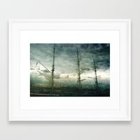 sailboat Framed Art Prints featuring Sailboat by Fine2art