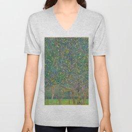 "Gustav Klimt ""Pear tree"" Unisex V-Neck"