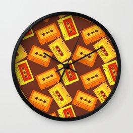 Cassette world Wall Clock