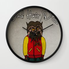 bad hair day no:5 / Thriller Wall Clock
