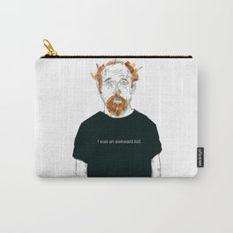 Louis CK… I was an awkard kid… quote Carry-All Pouch
