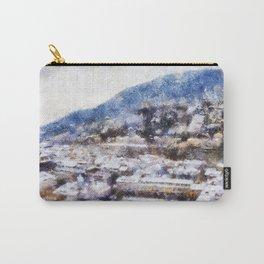 Snowy Heidelberg Carry-All Pouch