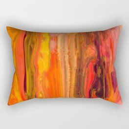 Abstract -Straighten Up and Fly Right Rectangular Pillow