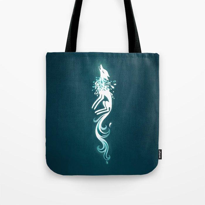 Light Fox Tote Bag