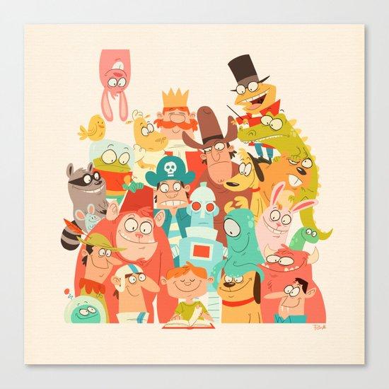 Storybook Gang Canvas Print