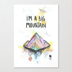 Big Mountain Canvas Print