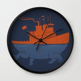 Tugger Wall Clock