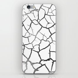 Dry earth iPhone Skin