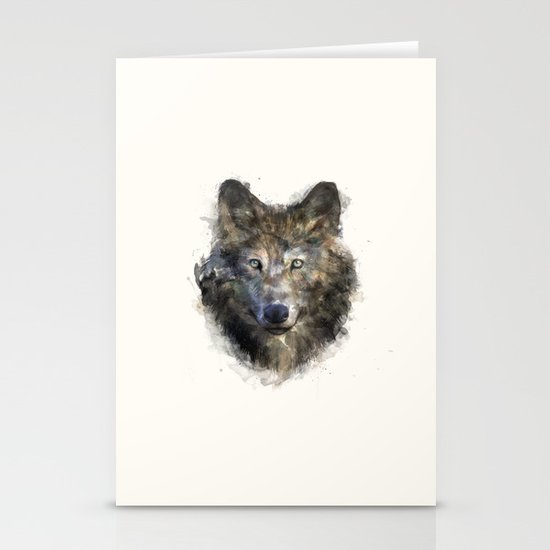 Wolf // Secure Stationery Cards