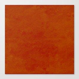 concrete orange brown copper plain texture Canvas Print