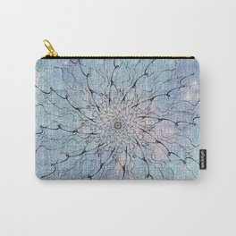 Popstar Blue on canvas Carry-All Pouch