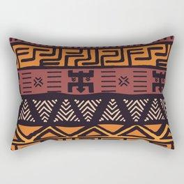 Tribal ethnic geometric pattern 021 Rectangular Pillow