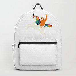 Unicorn Sloth Magic Time Backpack
