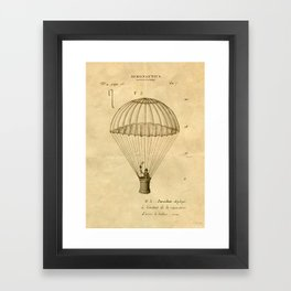 Falling, With Style Framed Art Print