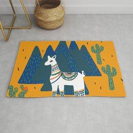 Llama land Rug