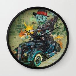 Bootleg Husker Wall Clock