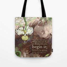 Begin it... Tote Bag