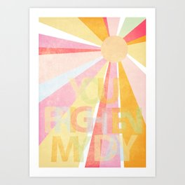 Brighten My Day Art Print