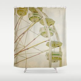 Set Yourself Free Shower Curtain