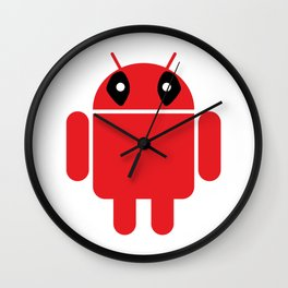 Deaddroid Wall Clock