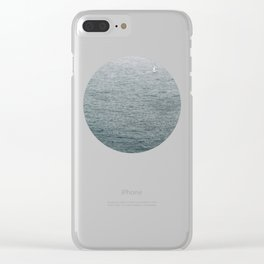 Lost Sailor Clear iPhone Case