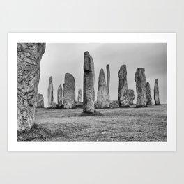 Callanish Stones Art Print