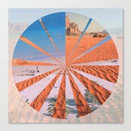 Wadi Rum vs. Tenerife Canvas Print