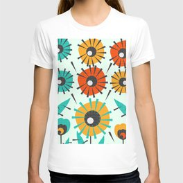 Prickly flowers T-shirt