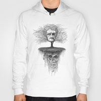 edgar allen poe Hoodies featuring Edgar Allan Poe, Poe Tree by Newmanart7 -- JT and Nancy Newman, Art a