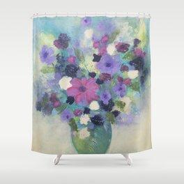 Spring Flower Bouquet Shower Curtain