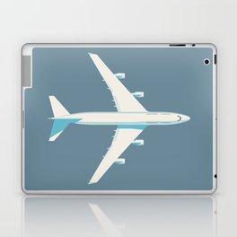 747 Jumbo Jet Airliner Aircraft - Slate Laptop & iPad Skin
