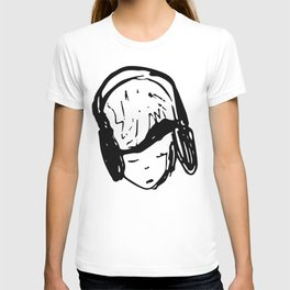 Earphone chill T-shirt