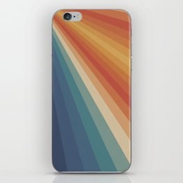 Retro 70s Sunrays iPhone Skin
