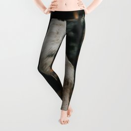 Wolf Backside (Color) Leggings