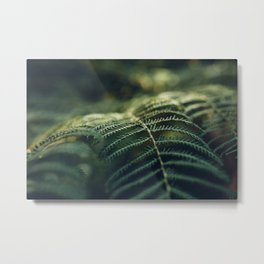 Green and Golden Metal Print