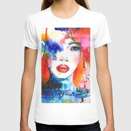 Women Face T-shirt
