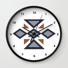 Repeat Blue Wall Clock