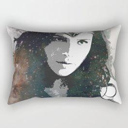 Galactic Wonder Gal Rectangular Pillow